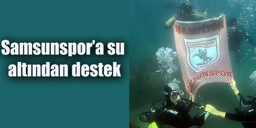 Samsunspor'a su altından destek