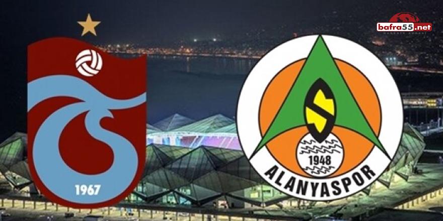 Trabzonspor'da gözler Alanyaspor maçına çevrildi