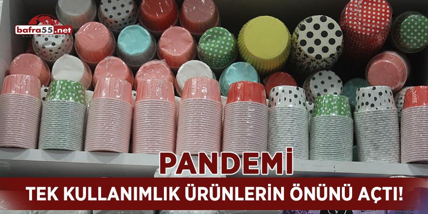 Pandemi tek kullanımlık ürünlerin önünü açtı