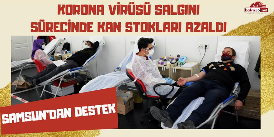 Korona virüsü salgını sürecinde kan stokları azaldı