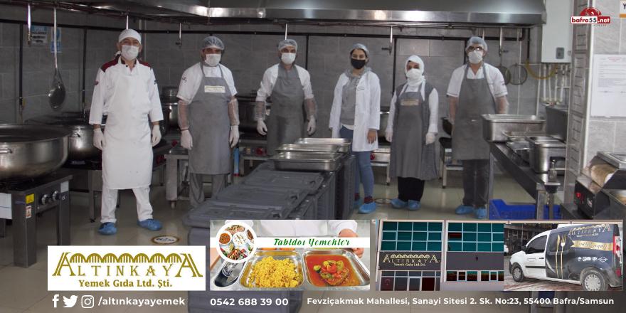 Altınkaya Yemek Fabrikası Samsun bölgesinde fark yaratmaya devam ediyor