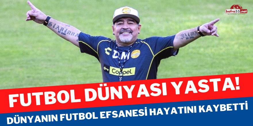 Dünyanın futbol efsanesi hayatını kaybetti