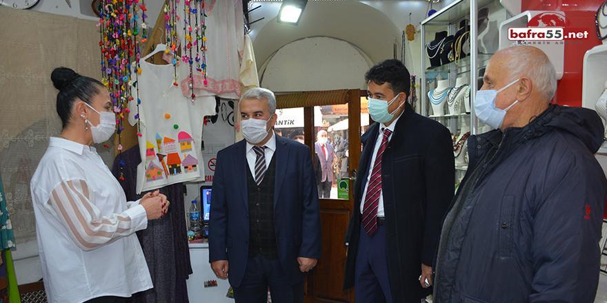 Sinop Vali Yardımcısı koronavirüs denetiminde