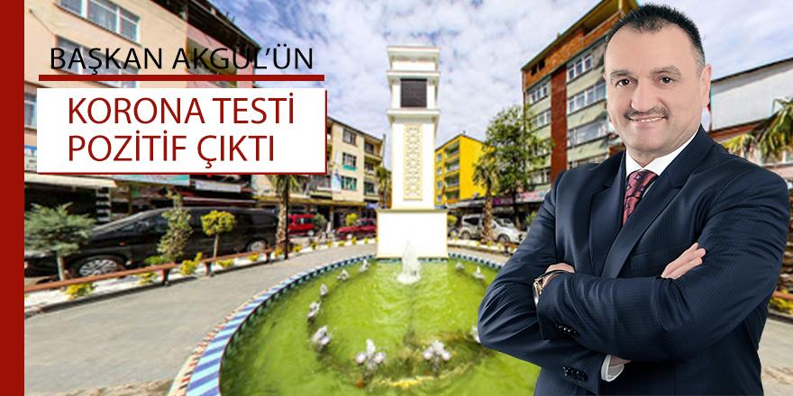 Salıpazarı Belediye Başkanı Halil Akgül'ün Kovid-19 testi pozitif çıktı