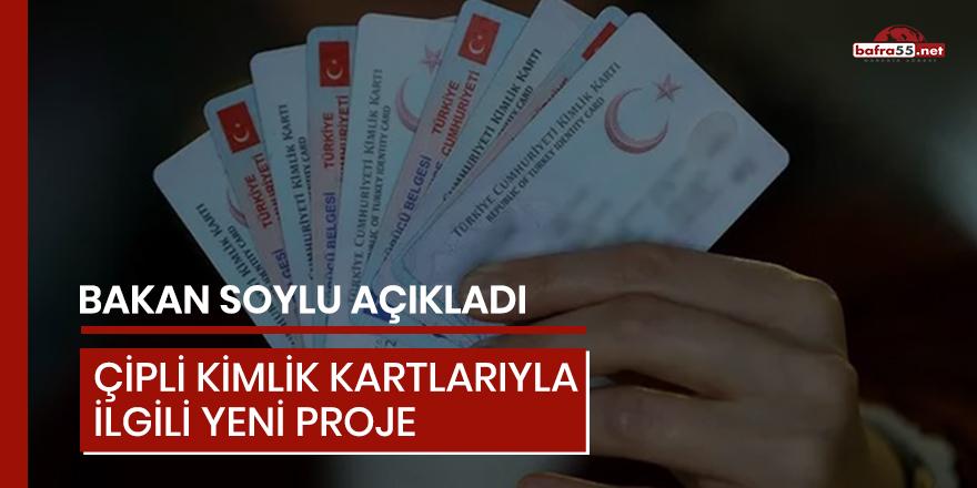 Çipli kimlik kartlarıyla ilgili yeni proje