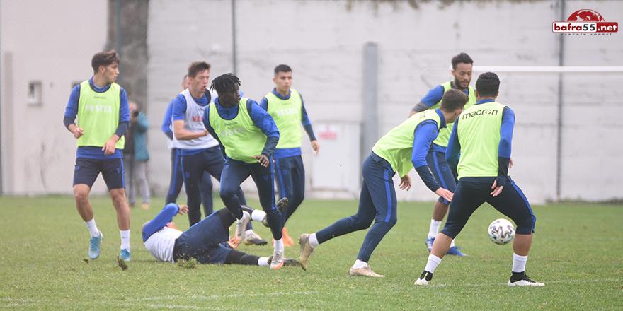 Trabzonspor, Sivasspor maçı hazırlıklarını sürdürüyor