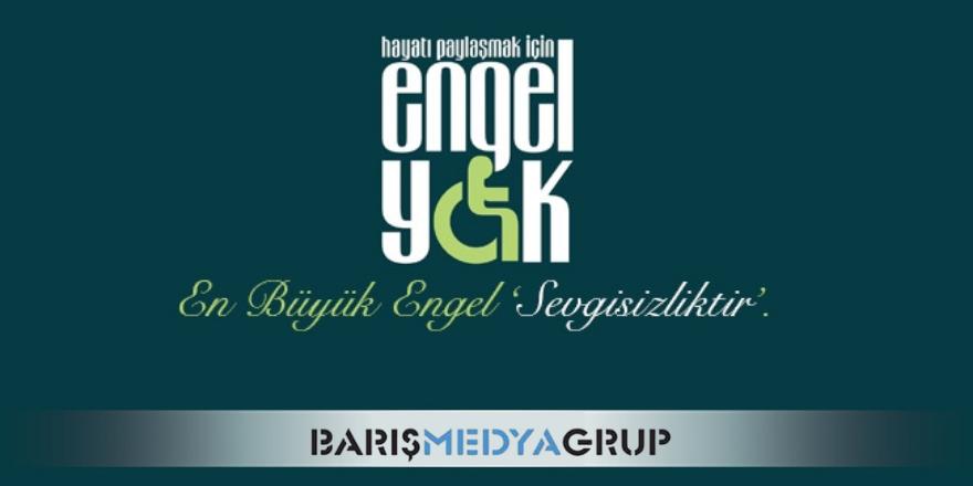 BARIŞ MEDYA GRUP'TAN 3 ARALIK DÜNYA ENGELLİLER GÜNÜ KUTLAMA MESAJI..