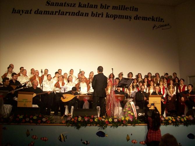 Bafralılar Türk Halk Müziğine Doydu