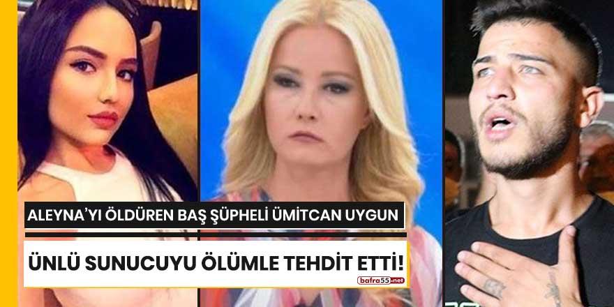 Ümitcan Uygun ünlü sunucuyu ölümle tehdit etti!