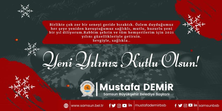 Mustafa Demir'den yeni yıl mesajı