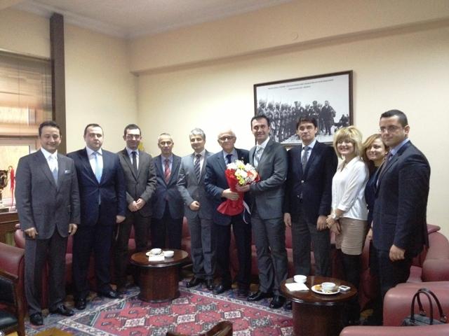 Samgiad'dan Samsun Baro Başkanı Av. Necat Anıl'ı Ziyaret