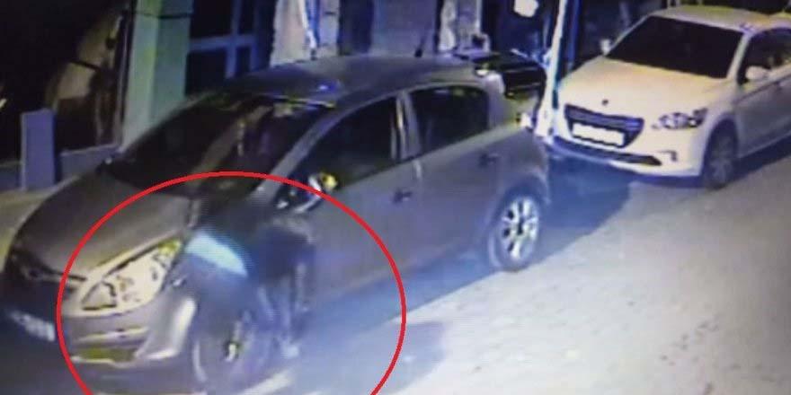 Bafra'da Lastikleri kesen 4 kişi yakalandı