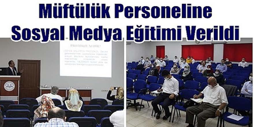 Müftülük personeline mesleki geliştirme kursları