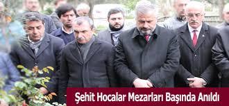 HOCALAR MEZARLARI BAŞINDA ANILDI