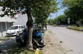 Alaçam'da trafik kazası 1:yaralı
