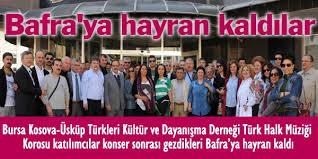 YUNANİSTAN HEYETİ BAFRA'YA HAYRAN KALDI.