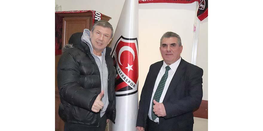Tanju Çolak İstanbul Bafraspor'da