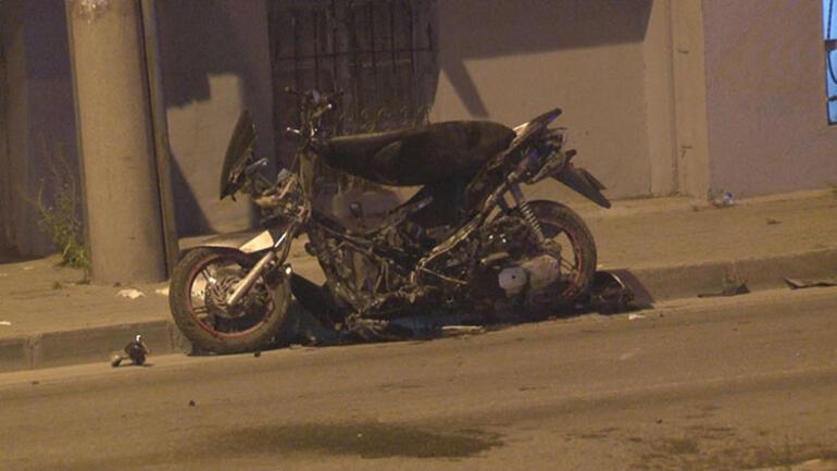 Bafra'da Motosiklet ile Otomobil Çarpıştı:1 Yaralı
