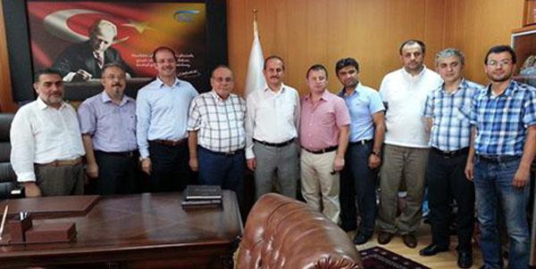 Samsun  Meslekte Birlik  SGK il  Müdürünü ziyaret etti