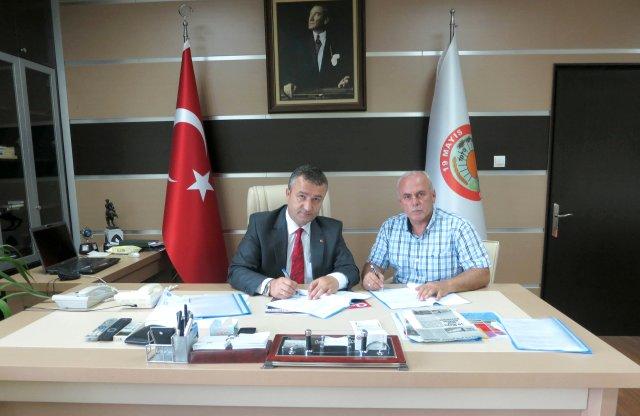 19 Mayıs Belediyesi'nde Sosyal Denge Sözleşmesi imzalandı