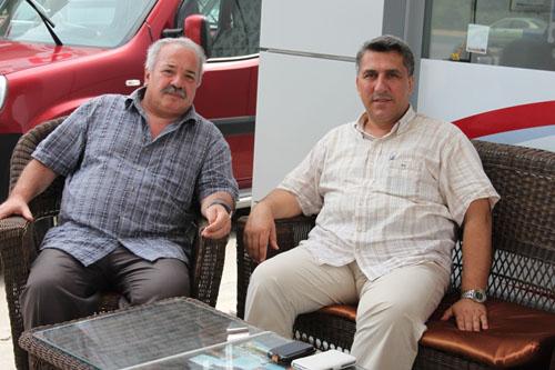 YÜKSEL ARSLAN OSMAN GENÇ'İ ZİYARET ETTİ
