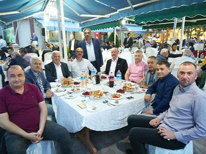 SAMSUN ESNAF ODALARI BİRLİĞİNDEN BAFRA'DA İFTAR YEMEĞİ.
