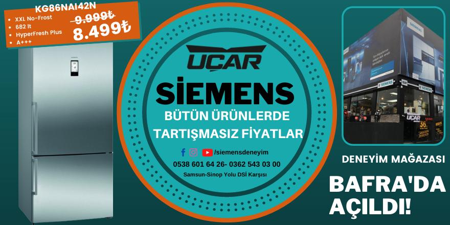 Karadeniz'in en büyük deneyim mağazası Bafra'da açıldı!