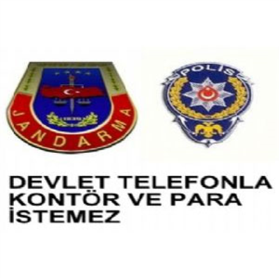POLİS KONTÖR İSTEMEZ
