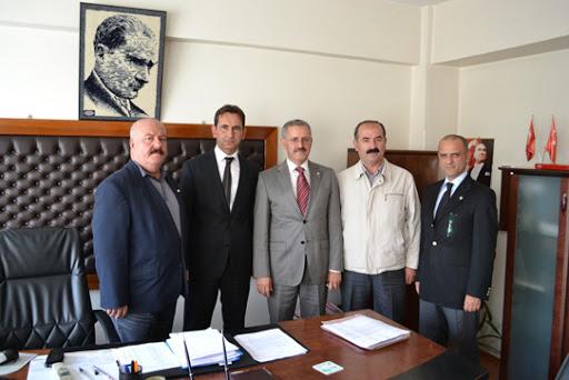 Başkan Durgun' dan Müdürlere Ziyaret