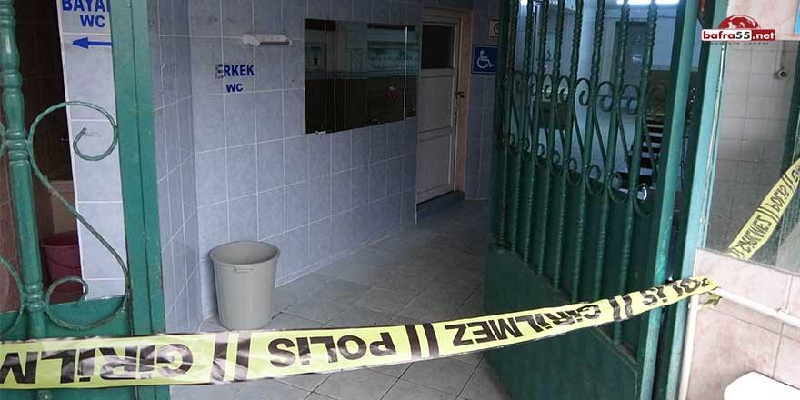 Samsun'da bir kişi cami tuvaletinde ölü bulundu