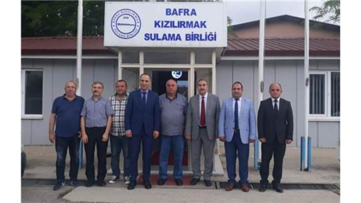 BAFRA'DA YENİ MECLİS ÜYELERİ İLK TOPLANTISINI YAPTI
