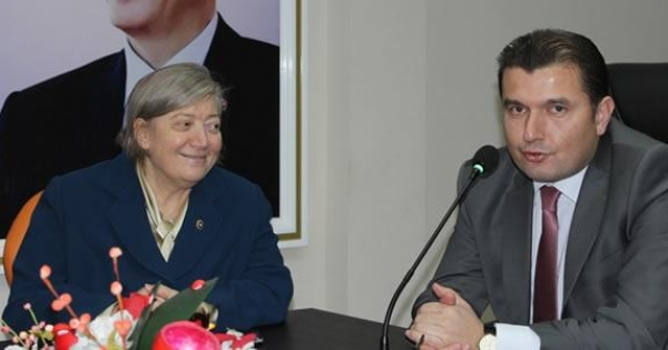 Tülay Bakır Bafra İlçe Teşkilatını Ziyaret Etti