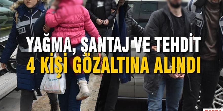 """""""ŞANTAJ VE TEHDİT"""" İDDİASI ŞÜPHELİLERİ SERBEST"""