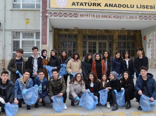 Bafra Atatürk Anadolu Lisesi'nden Bafra Eğitim Uygulama İş Okuluna Ziyaret