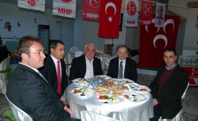Bafra MHP'den Birlik Toplantısı