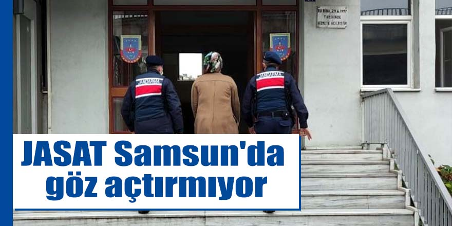JASAT Samsun'da göz açtırmıyor