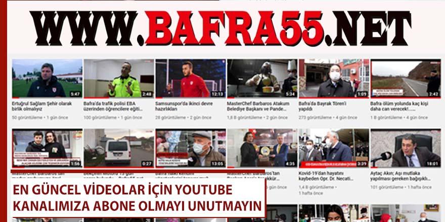 Youtube kanalımıza abone olmayı unutmayın
