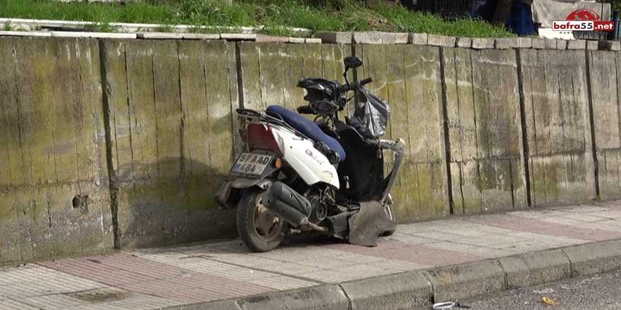 Sinop'taki kazada motosiklet sürücüsü hayatını kaybetti!