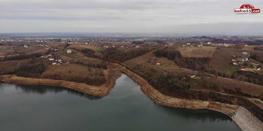 Çakmak Barajı'na Yeşilırmak'tan su takviyesi