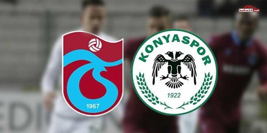 Trabzonspor ile Konyaspor'un Süper Lig'deki 39'uncu karşılaşması