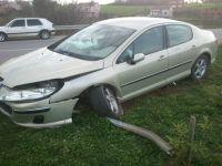 Bafra Osmanbeyli-Lengerli Kavşağında Trafik Kazası