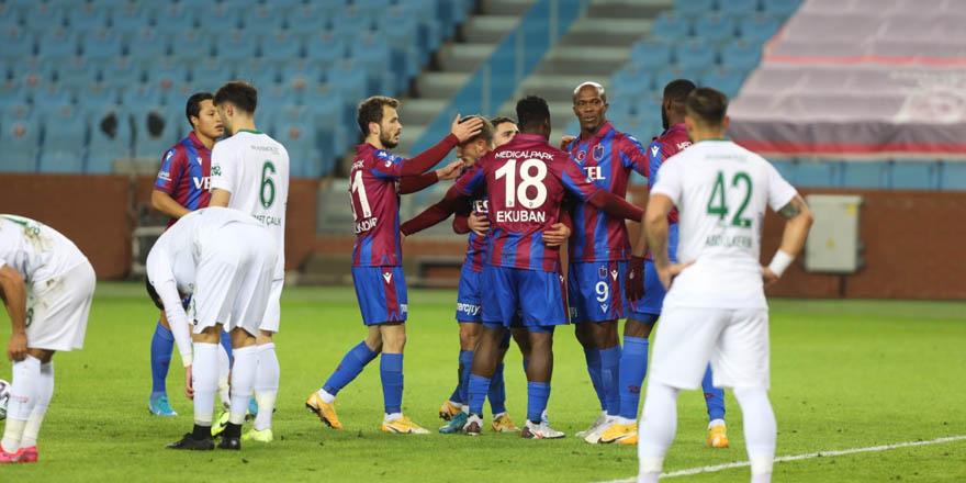 Nihayet Trabzonspor iyi futbol ile kazandı