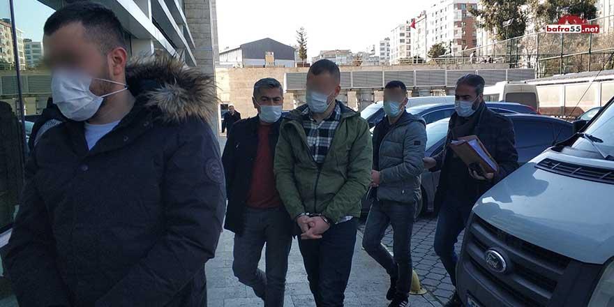 Samsun'da silahla yaralamaya 3 gözaltı