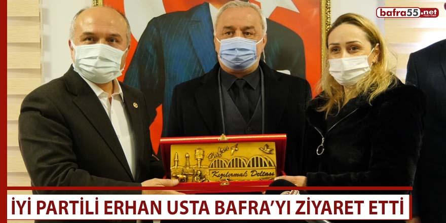 İYİ Partili Erhan Usta Bafra'yı ziyaret etti
