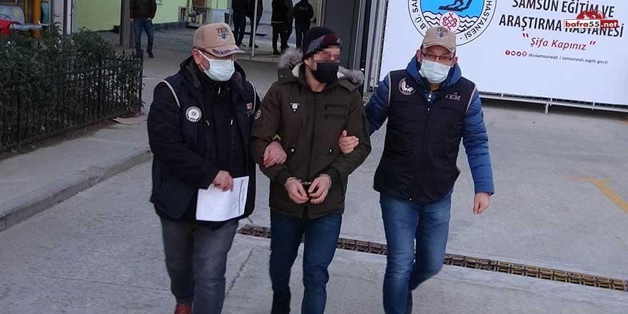 Samsun'da düzenlenen DEAŞ operasyonunda 14 yabancı uyruklu gözaltında