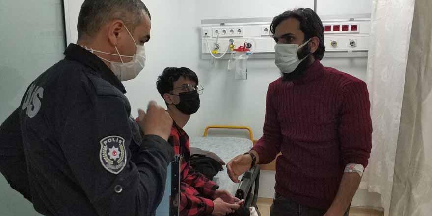 Samsun'da Iraklı 2 genci hastanelik ettiler