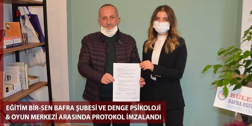 Eğitim Bir-Sen ile Denge Psikoloji ve Oyun Merkezi arasında protokol imzalandı