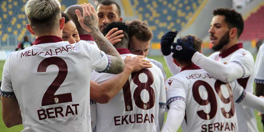 Trabzonspor tam gaz devam ediyor