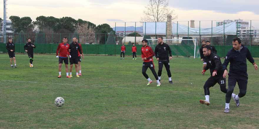 Çarşambaspor'da hedef ikinci yarı iyi başlamak