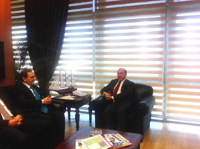 Başkan Şahin SGK Başkanı Fatih Acar'ı Ziyaret Etti